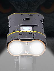 abordables -LED Eclairage de Velo Eclairage de Vélo Avant LED VTT Vélo tout terrain Vélo Cyclisme Imperméable Transport Facile Pro Modes de charge multiples 18650 Rechargeable Batterie Li intégrée USB Blanc