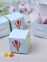 cheap -Cubic Card Paper Favor Holder with Pattern Favor Boxes