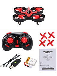cheap -RC Drone NIHUI NH-010 4 Channel 6 Axis 2.4G With HD Camera 0.3MP RC Quadcopter One Key To Auto-Return / 360°Rolling RC Quadcopter / 1 x User Manual