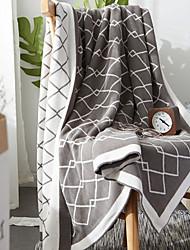 cheap -Sofa Throw, Checkered Polyester Comfy Blankets