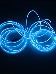 cheap -BRELONG 1 pc 5M Light String White Light Red Light Blue Light Green Light Pink Light
