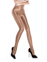 cheap -Women's Medium Sexy Pantyhose - Solid Colored Black Beige Khaki One-Size