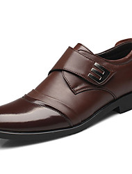 cheap -Men's Formal Shoes Nappa Leather Fall / Winter Oxfords Black / Coffee / Party & Evening / Party & Evening