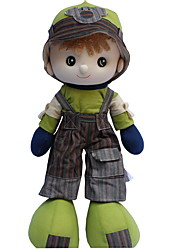 cheap -Girl Doll Plush Doll Baby Girl 22 inch Cute For Children Soft Child Safe Decorative Non Toxic Kid's Girls' Toy Gift / Large Size / Lovely