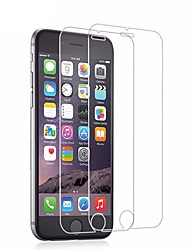 cheap -AppleScreen ProtectoriPhone 6s High Definition (HD) Screen Protector 2 pcs Tempered Glass / 9H Hardness / 2.5D Curved edge / Ultra Thin