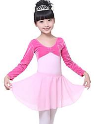 cheap -Ballet Bottoms Performance Chiffon High Skirts