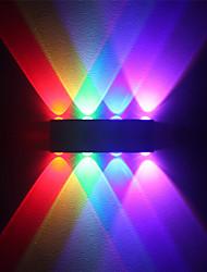 Недорогие -современный 8w привело стены бран крытый коридор вверх вниз настенный светильник алюминиевый многоцветный свет