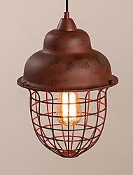 Недорогие -vintage industrial edison простота лофт подвеска огни металлический оттенок столовая кухня бар кафе свет