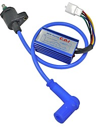 cheap -Blue Modified Off Road Motorcycle ATV Dirt Pit Bike Racing CDI Ignition Coil Line 125CC