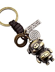 cheap -Keychain Animals Classic & Timeless Ring Jewelry Gold For Gift School Date Holiday