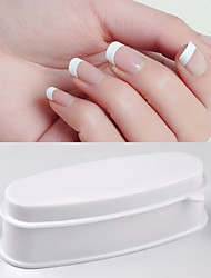 cheap -1pc Plastic Nail Art Accessories Multi-function Durable Personalized Classic Chic & Modern Party / Evening Daily Nail Art Storage Box for Finger Nail Toe Nail