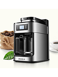 cheap -Coffee Machine Full Automatic Stainless Steel Drip Coffee Makers 100-240V 1000W Kitchen Appliance
