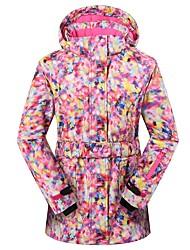 cheap -Phibee Women's Ski Jacket Ski / Snowboard Winter Sports Waterproof Windproof Warm Polyester Jacket Ski Wear