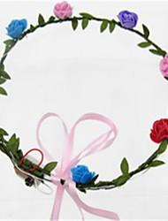 abordables -Accessoires d'Halloween / Coiffure Thème floral Éclairage / Anniversaire Adulte Cadeau
