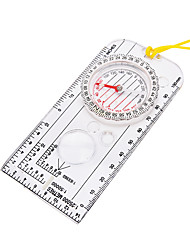 cheap -Compasses Directional Nautical ABS Camping / Hiking Camping / Hiking / Caving Trekking Transparent
