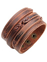 cheap -Women's Bracelet Vintage Fashion Leather Bracelet Jewelry Brown For Ceremony Carnival