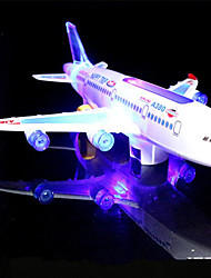 cheap -LED Lighting / Model Building Kit Holiday / Birthday / Airplane Music / Noctilucent / Electric Kid's Gift