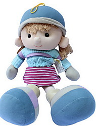 cheap -14 inch Girl Doll Plush Doll Cute Child Safe Non Toxic Adorable Lovely 35cm with Clothes and Accessories for Girls' Birthday and Festival Gifts / Large Size