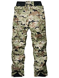 cheap -ARCTIC QUEEN Men's Ski / Snow Pants Camping / Hiking Ski / Snowboard Outdoor Exercise Waterproof Windproof Warm Polyester Pants / Trousers Ski Wear / Winter / Camo / Camouflage