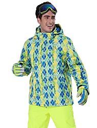 cheap -Phibee Men's Ski Jacket Ski / Snowboard Winter Sports Waterproof Windproof Warm Polyester Jacket Ski Wear