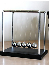 cheap -Newton Cradle Balance Ball Stress Reliever Educational Toy Gravity Type Metal Ornament Stress and Anxiety Relief Kid's Boys' Girls' Toy Gift 1 pcs