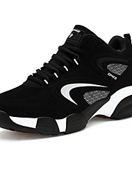 cheap -Men's Comfort Shoes Nubuck leather Spring / Fall Athletic Shoes Basketball Shoes Black / Red / Blue / EU40