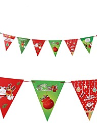 cheap -Christmas Decorations Christmas Flags Christmas Party Supplies Holiday Santa Suits Elk Santa Suit Kid's Adults' Boys' Girls' Toy Gift