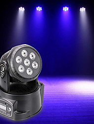 cheap -U'King Disco Lights Party Light LED Stage Light / Spot Light DMX 512 / Master-Slave / Sound-Activated 70 W Outdoor / Party / Stage Professional Red Green RGB+White for Dance Party Wedding DJ Disco