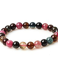 cheap -Women's Bead Bracelet Simple Fashion Gemstone Bracelet Jewelry Brown For Street