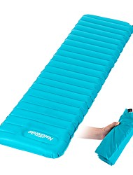 cheap -Naturehike Inflatable Sleeping Pad Air Pad Outdoor Camping Portable Moistureproof Ultra Light (UL) TPU Nylon 183*50*9 cm Camping / Hiking Outdoor for 1 person All Seasons Orange Blue