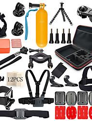 Недорогие -Общие принадлежности Демпфирование С компактным кабелем Ударопрочный 1 pcs Для Экшн камера Gopro 6 Все Gopro 5 Xiaomi Camera Gopro 4 Отдых и Туризм Катание на лыжах Спорт в свободное время / SJCAM