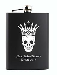 abordables -Non personnalisé Matière / Acier inoxydable Autres / Materiel de bar & Flasques / Flasque Marié / Groom / Parents Soirée / Fête / Soirée
