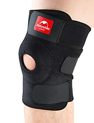 cheap -Knee Brace for Running Hiking Outdoor Exercise Damping Nylon Mix Rubber 1pc Professioanl Use Black