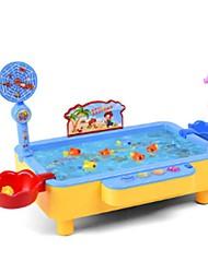 Недорогие -Рыболовные игрушки Вращающаяся Рыбалка Игрушка Электрический 2 игрока Акрил Детские Игрушки Подарок 1 pcs