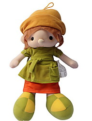 cheap -14 inch Girl Doll Plush Doll Cute For Children Soft Child Safe Decorative 35cm with Clothes and Accessories for Girls' Birthday and Festival Gifts / Kid's / Large Size / Non Toxic / Lovely