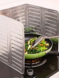 Недорогие -алюминиевая фольга кухня приготовление сковорода масляный брызг анти брызги защитный экран