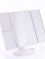 abordables -Miroir à maquillage Miroirs cosmétiques Maquillage 1 pcs Plastique / Autre matériel / Verre Carré Cosmétique Accessoires de Toilettage