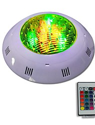 cheap -12W IP68 Waterproof RGB LED Underwater Swimming Pool Light Remote Controlled Outdoor Lighting AC 12 - 24V