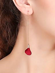 cheap -Women's Drop Earrings Dangle Earrings Flower Sweet Earrings Jewelry Coffee / Pink / Wine For Party Date