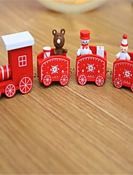 Недорогие -Рождественский декор Новогодние подарки Товары для Рождественской вечеринки Рождественские игрушки Поезд Игрушки Новогодняя тематика