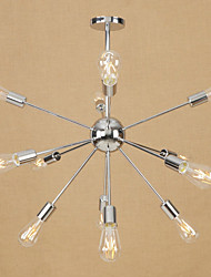 cheap -Chandelier Ambient Light Electroplated Metal Mini Style, Adjustable 110-120V / 220-240V Bulb Not Included / E26 / E27