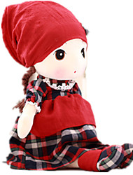 cheap -Girl Doll Plush Doll Novelty People Cartoon Cute Child Safe Non Toxic Fun Lovely Large Size Kid's Girls' Toy Gift