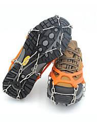 cheap -Traction Cleats Crampons Outdoor Non-Slip Metal Alloy Rubber Metal Climbing Outdoor Exercise Orange