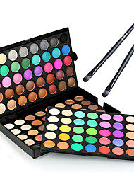cheap -Eyeshadow Palette Makeup Brushes Dry Matte Shimmer Ammonia Free Formaldehyde Free Glitter Shine Long Lasting