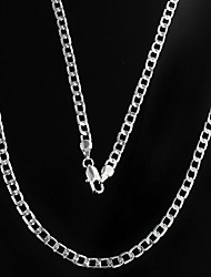 cheap -Men's Chain Necklace Mariner Chain Cheap Alloy Silver Necklace Jewelry For Christmas Gifts Daily