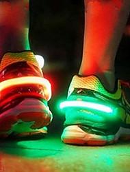 cheap -HKV® LED Luminous Shoe Clip Light Night Warning Safety Cycling Bike Running Sports Drop Shipping Drop ship
