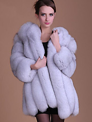 cheap -Long Sleeve Faux Fur Wedding / Party / Evening Women's Wrap With Coats / Jackets