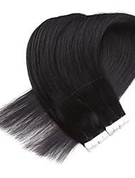 Недорогие -Neitsi На ленте Расширения человеческих волос Классика Натуральные волосы Накладки из натуральных волос Жен. Бежевый Blonde / Bleached Blonde