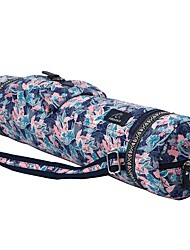 cheap -FODOKO 26 L Yoga Mat Bag / Bag / Phone / Keychain Charm - Yoga, Pilates, Fitness Travel Cotton Pink+Green, Camouflage Blue, Pale Pink