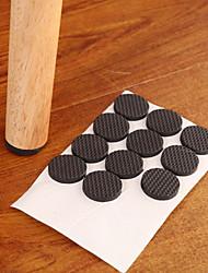 Недорогие -многофункциональный черный самоклеящаяся мебель стол для ног стул диван ног пол нескользящий коврик липкая прокладка протектор